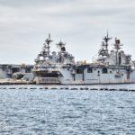 21 Injured Fire Onboard USS Bonhomme Richard Naval Ship In