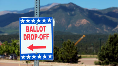 Mail in Ballot drop off