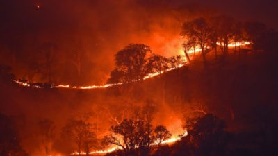More Than 60,000 Evacuated In Irvine, CA., Schools Closed Due To Wildfires