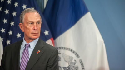 Michael Bloomberg spends in Texas and Florida