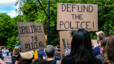 Defund police crime spike rise
