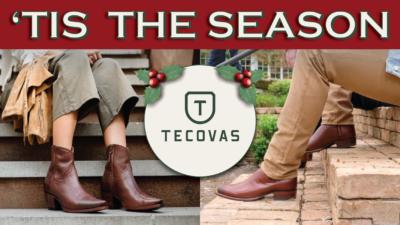 Tis the Season Tecovas boot giveaway