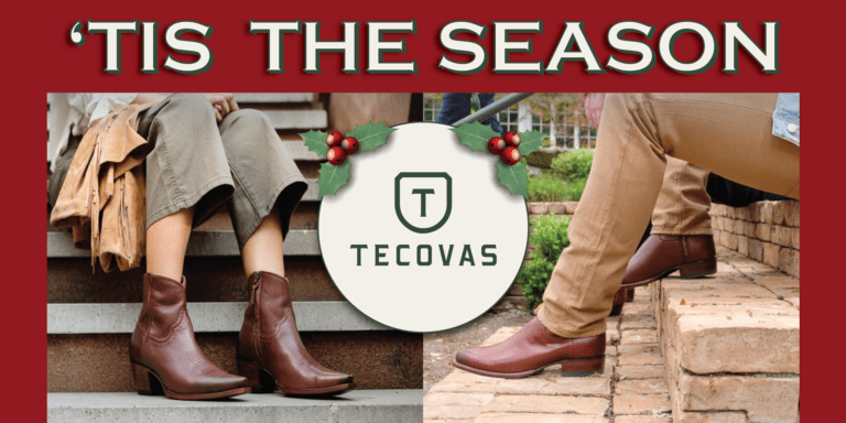 Tis the Season Tecovas boot giveaway