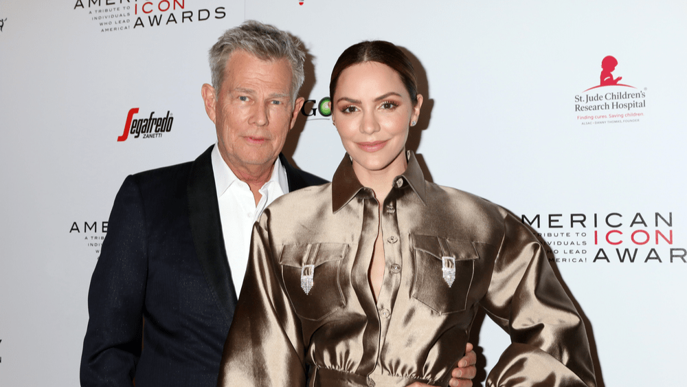 David Foster and wife Katharine McPhee welcome a son