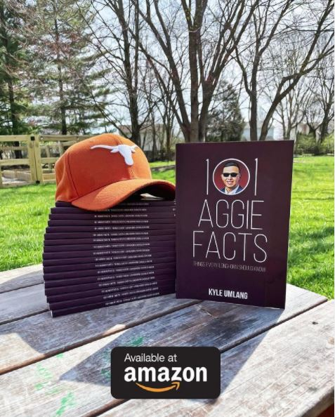 Kyle Umlang Joined Sports Talk to Promote His New Book: '101 Aggie Facts'