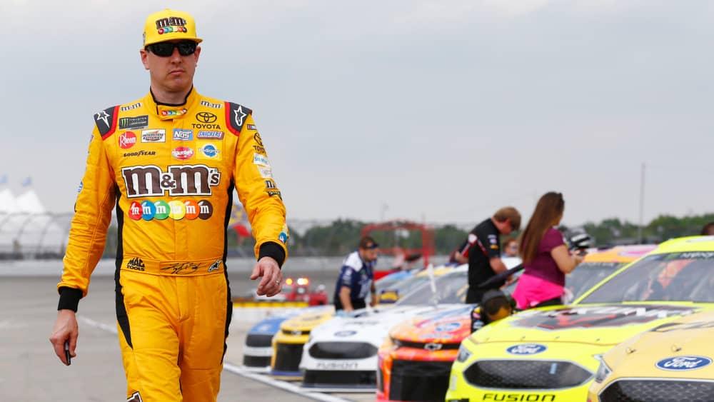 Kyle Busch wins NASCAR Buschy McBusch Race 400 at Kansas on his birthday