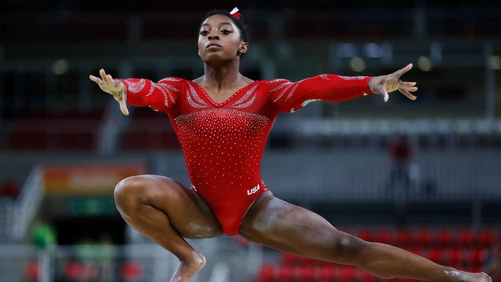 Simone Biles earns record 7th U.S. women's all-around gymnastics title