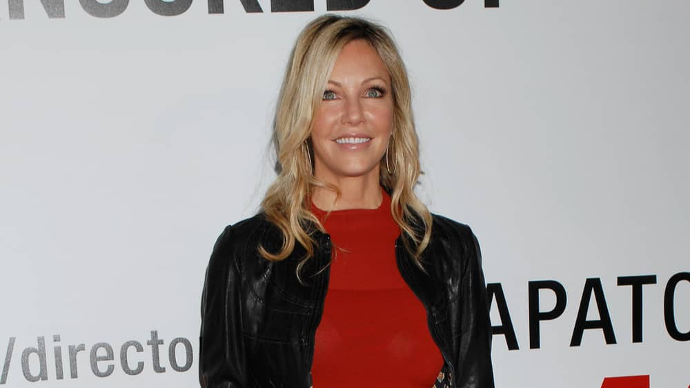 Heather Locklear to star in new Lifetime movie chronicling Kristine Carlson's life, produced by Meghan McCain