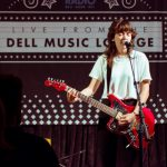 Courtney Barnett in the Dell Music Lounge