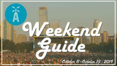 weekend guide october 11 - october 13 2019