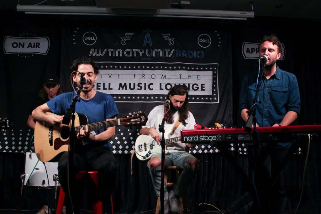 local natives in dell music lounge