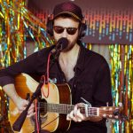 Ruston Kelly Performs Backstage During the Austin City Limits Music Festival