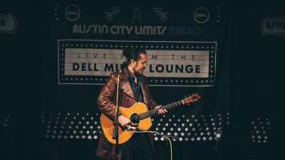 Citizen Cope performing in the Dell Music Lounge