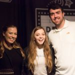 Jade Bird in the Dell Music Lounge: Jade Bird with fans in the Dell Music Lounge