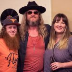 Israel Nash in the Dell Music Lounge 7/26: Israel Nash with fans in the Dell Music Lounge