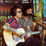 The Arkells Backstage During the Austin City Limits Music Festival: The Arkells Backstage During the Austin City Limits Music Festival