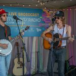 Backstage at Austin City Limits Music Festival 2019: CAAMPS backstage at acl fest