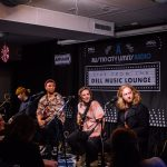 Dell Music Lounge with Devon Gilfillian: Devon Gilfillian and band on stage
