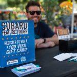 KGSR: Subaru register to win sign ups