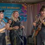 Backstage at Austin City Limits Music Festival 2019: joseph the band at acl fest