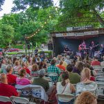 Unplugged at the Grove with Israel Nash: Crowd watching Israel Nash