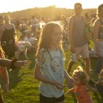 Blues on the Green July 17th, 2019: Kids running around