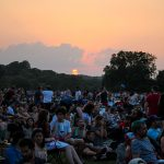 Blues on the Green May 22nd, 2019: sunset view at blues on the green