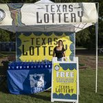 Blues on the Green July 17th, 2019: Texas Lottery booth