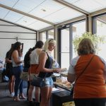 Dell Music Lounge with Noah Kahan: People serving food