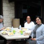 Winners enjoying Torchys Tacos