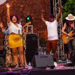 Blues on the Green May 22nd, 2019: sir woman band singing