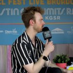 Backstage at Austin City Limits Music Festival 2019: Finneas backstage at acl fest