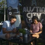Blues on the Green July 17th, 2019: People listening to music