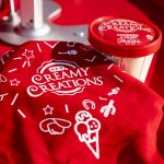 Blues on the Green July 17th, 2019: HEB Creamy Creations ice cream and towel