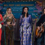Backstage at Austin City Limits Music Festival: The Beaches
