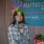 Backstage at Austin City Limits Music Festival 2019: Bille Eilish backstage