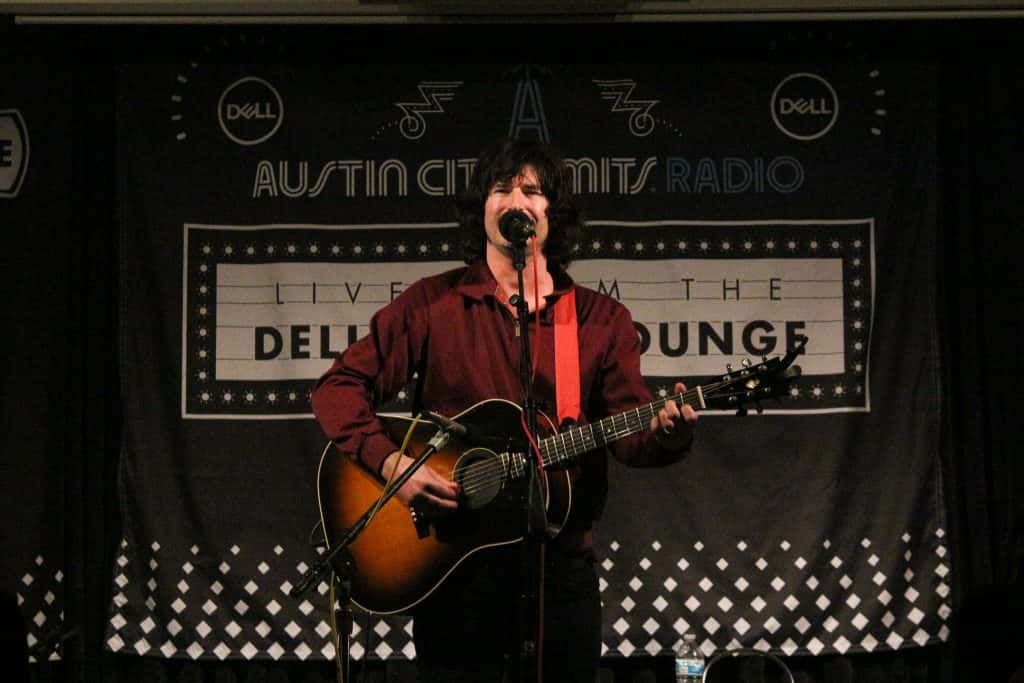 Pete Yorn in the Dell Music Lounge