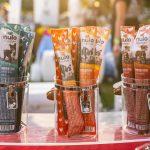 """jars containing """"Nulo Freestyle"""" dog treats"""