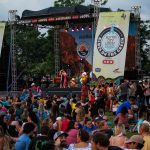 Blues on the Green May 22nd, 2019: blues on the green stage
