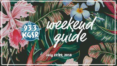 KGSR's Weekend Guide July 27-29