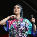Billie Eilish on stage