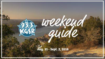 KGSR's Weekend Guide Aug. 31 - Sept. 2