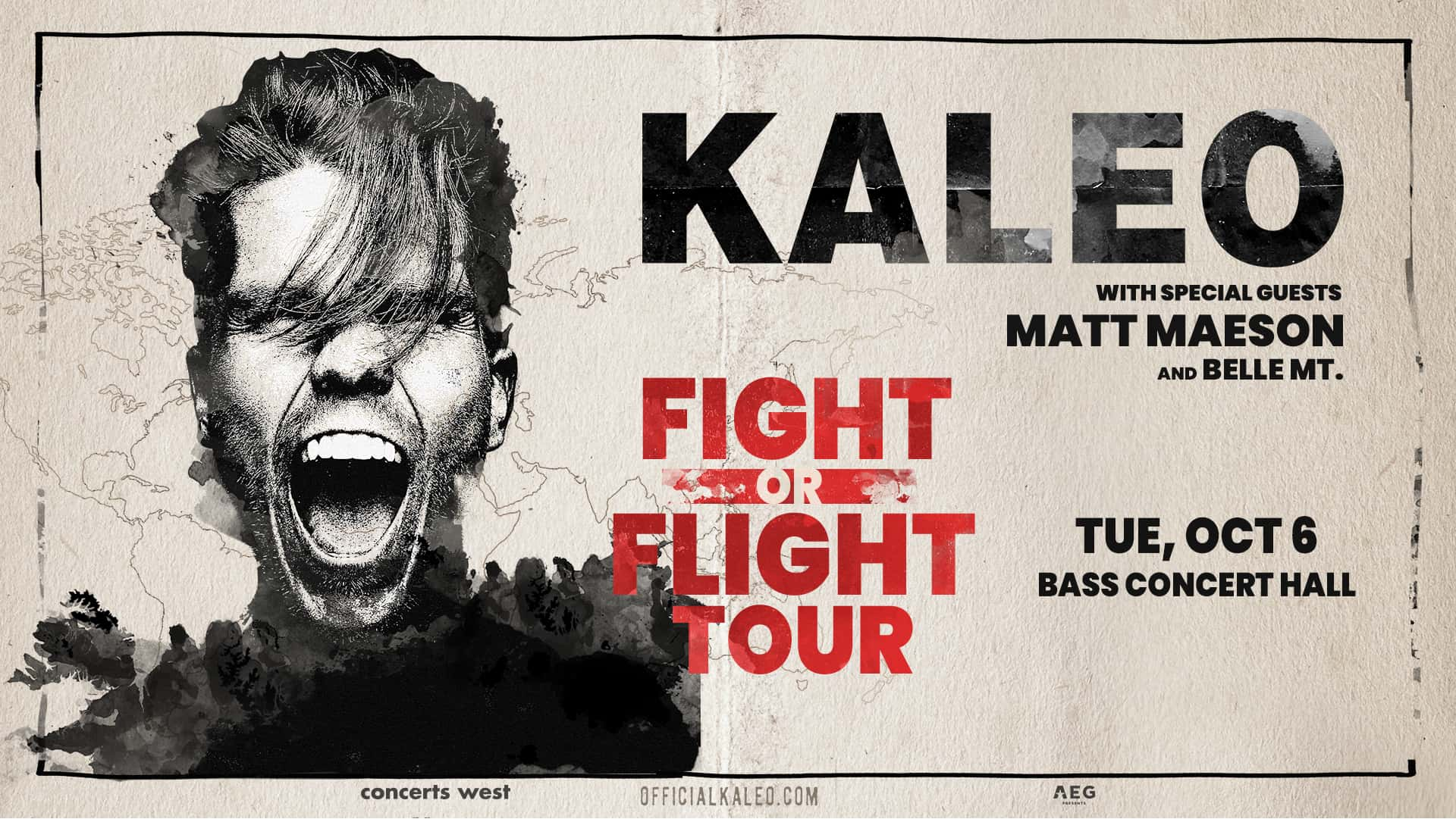 Kaleo with Matt Maeson and Belle Mt.