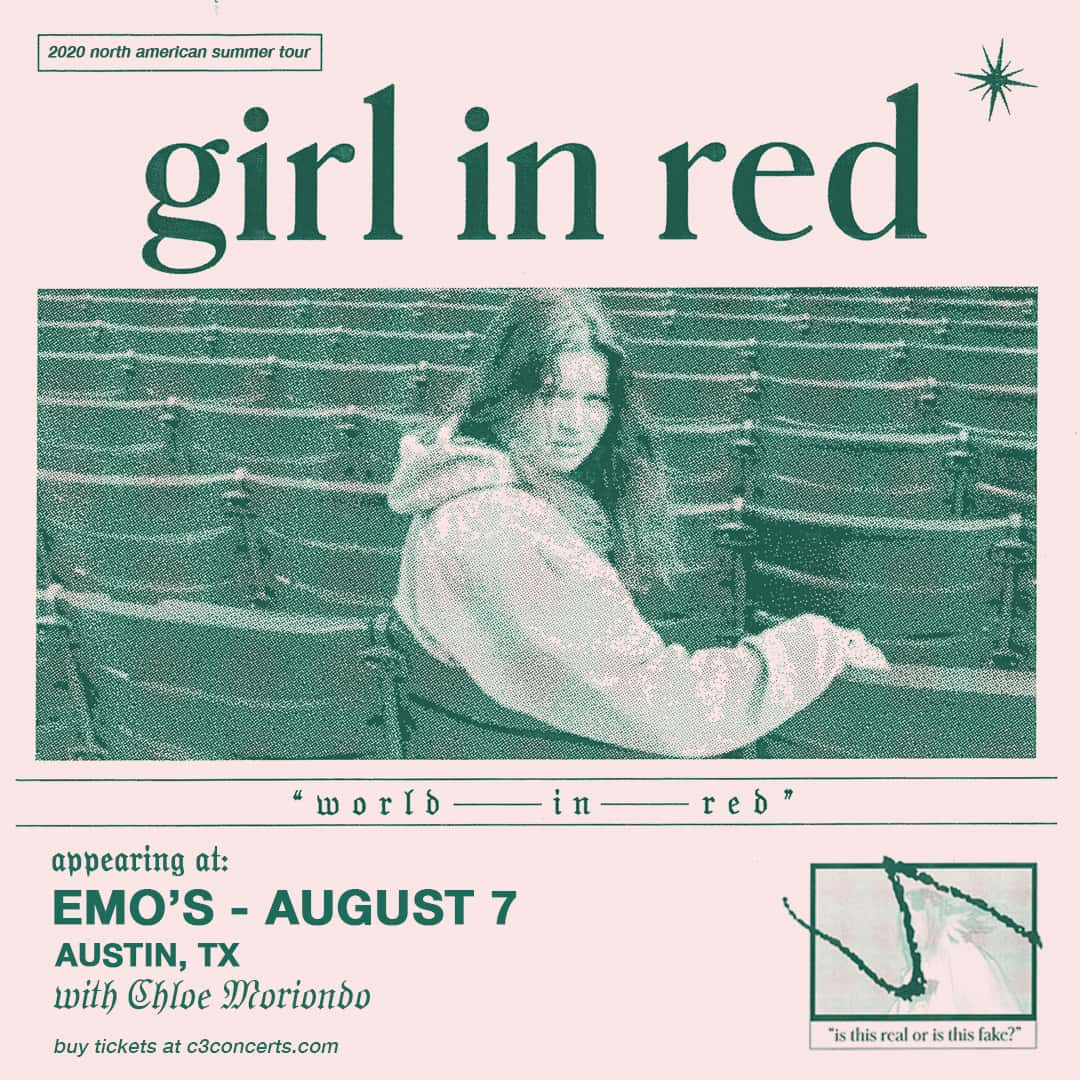 girl in red, emo's august 7th, austin,tx