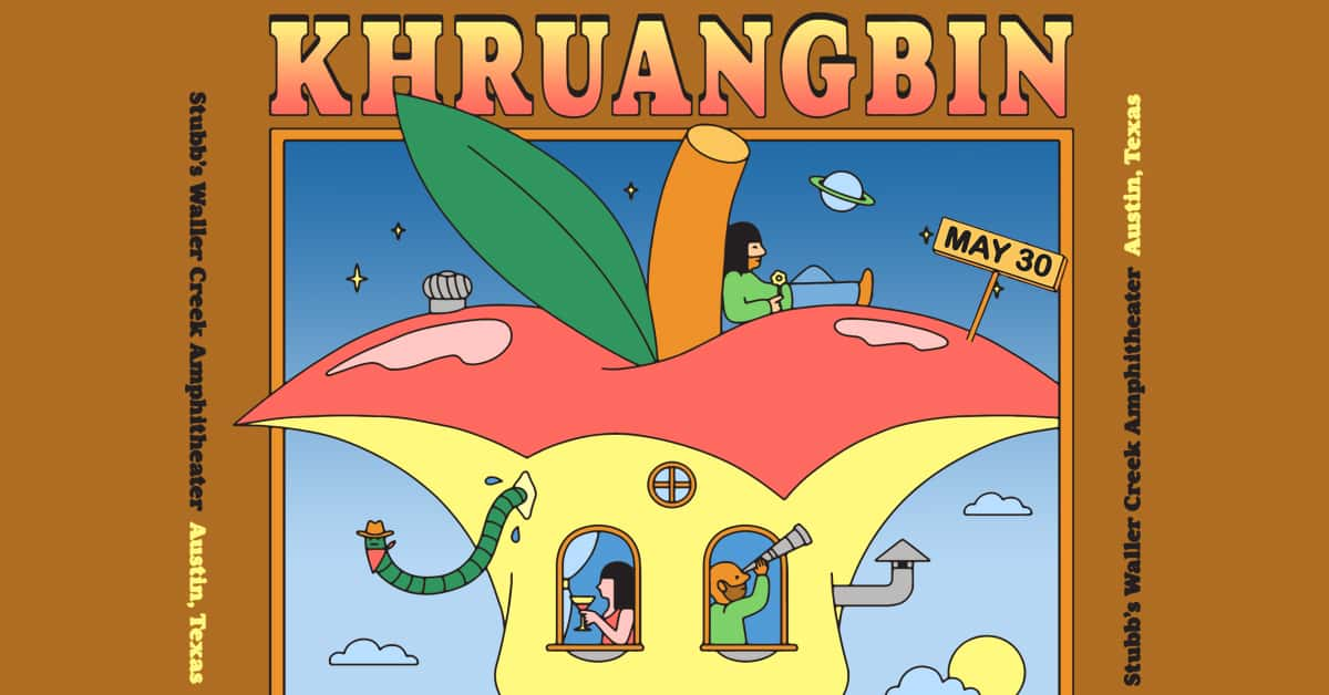 Khruangbin, at Stubb's Waller Creek Amphitheater on May 20th 2020