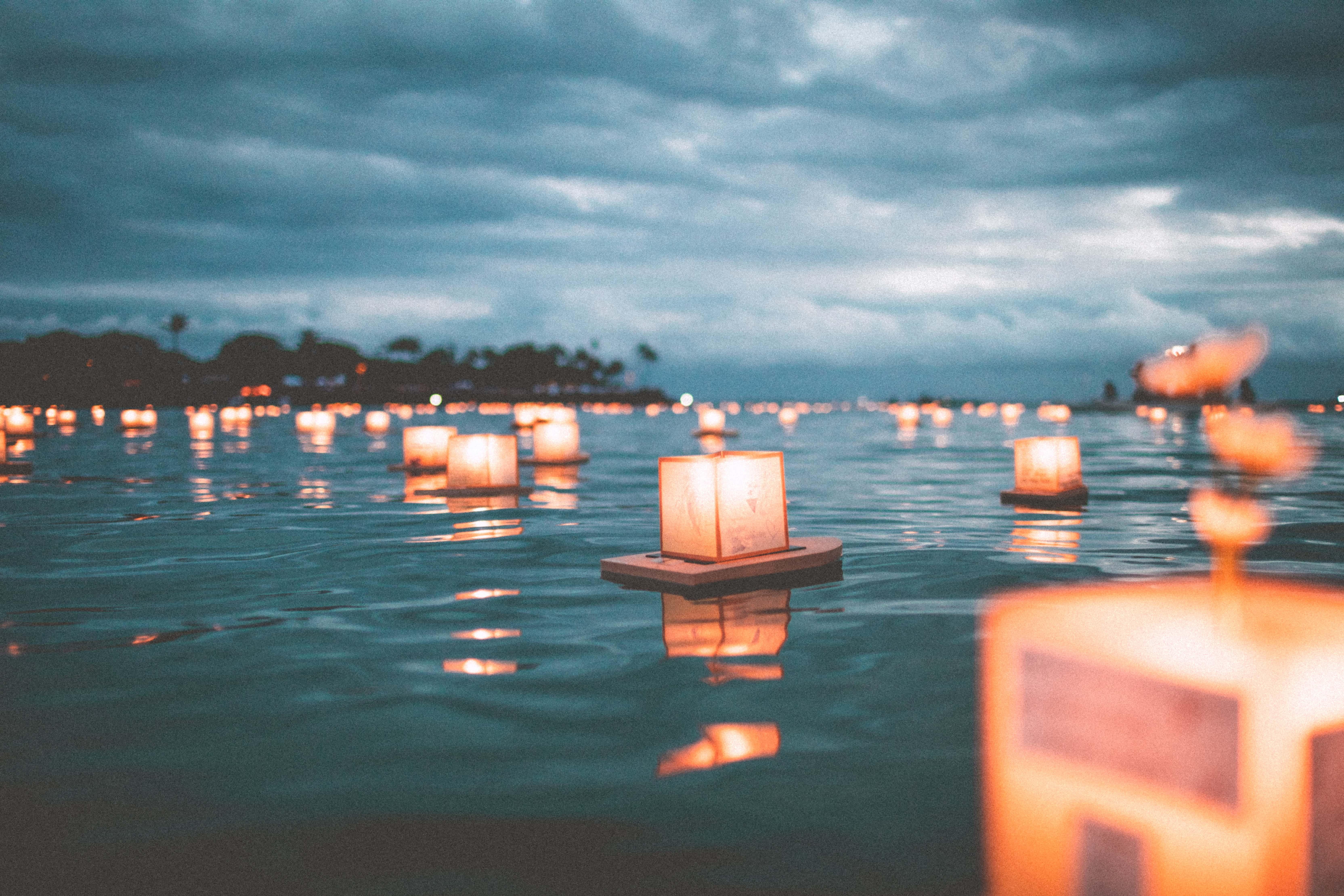 water lanters
