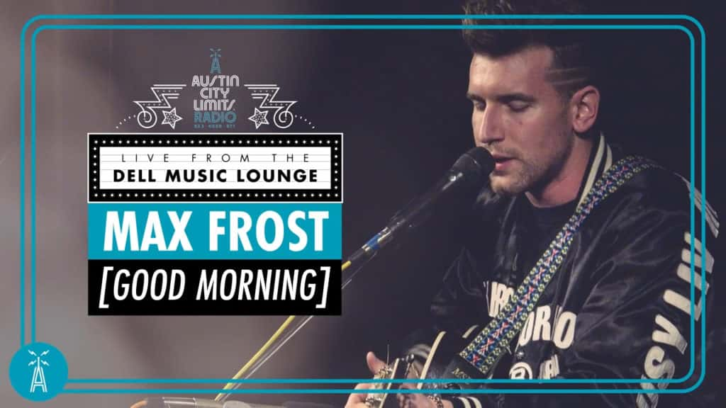 Max Frost performs