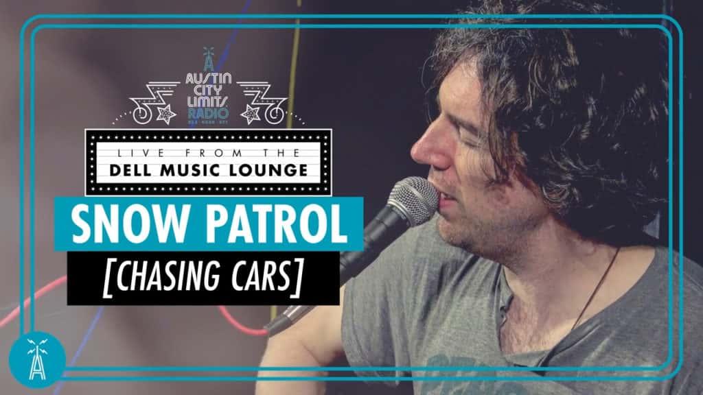 Snow Patrol performs