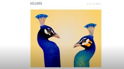The Killers Fire and Bone art