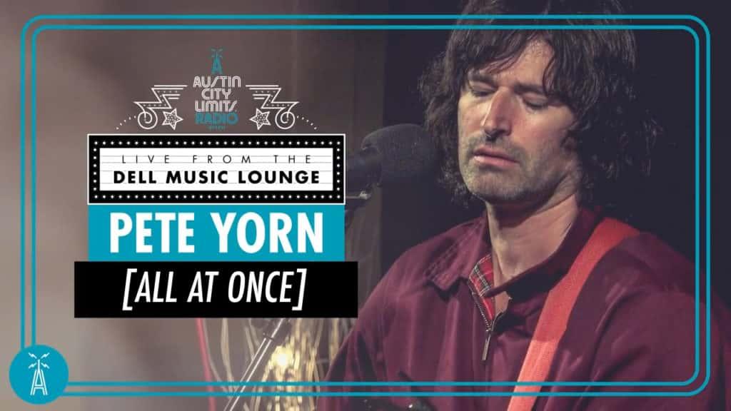 Pete Yorn performs